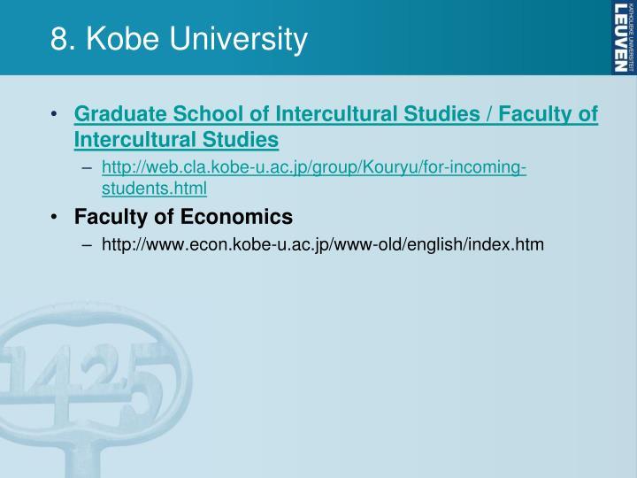 8. Kobe University