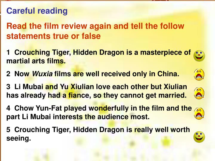 Careful reading
