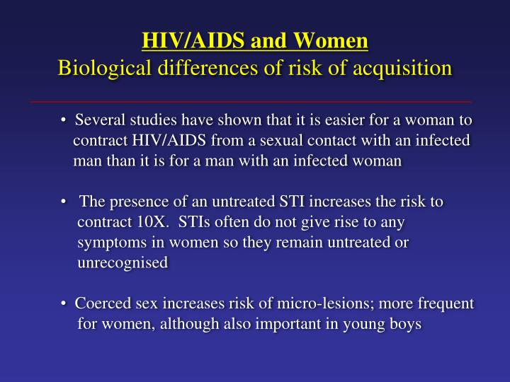 HIV/AIDS and Women