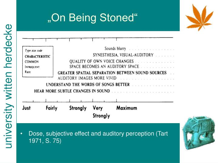 """On Being Stoned"""
