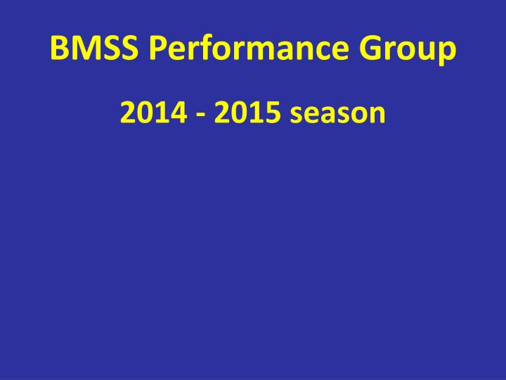 bmss performance group n.