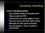 container handling1