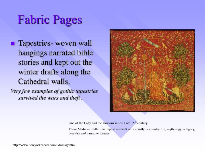 Fabric Pages
