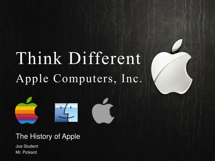 the history of apple n.