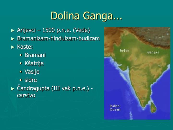 Dolina Ganga...