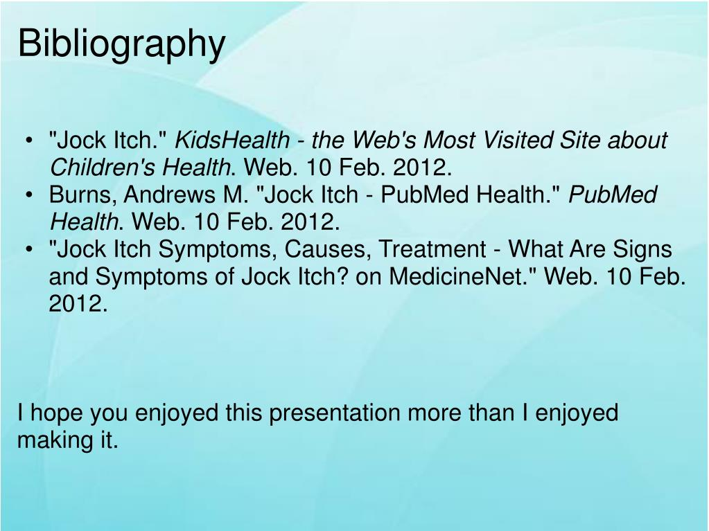 PPT - Jock Itch PowerPoint Presentation - ID:5553317