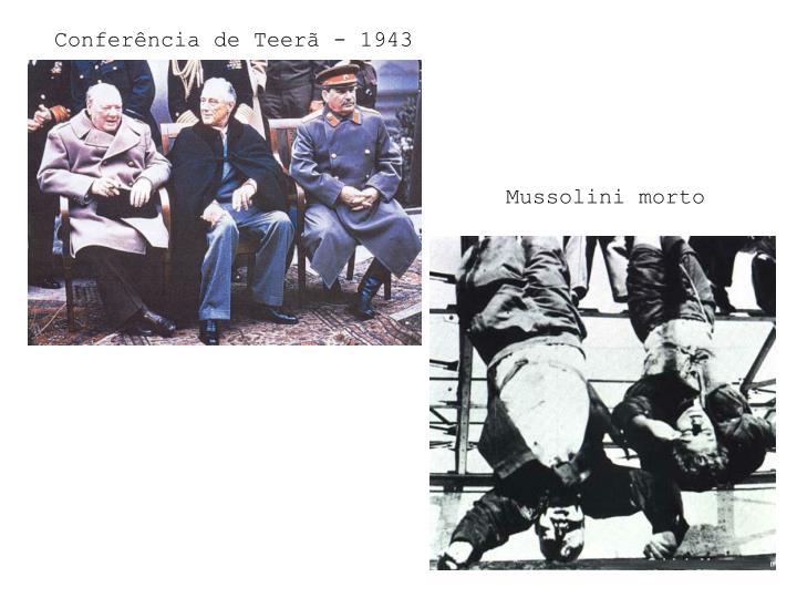 Conferência de Teerã - 1943