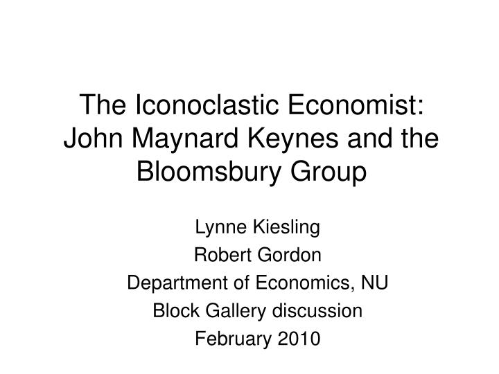 a discussion on the goals of post keynesian economics Goals at the difference of crotty (1993) in post-keynesian economics, firms are not assumed to maximize profits, as is clear in lavoie (1992: 105).
