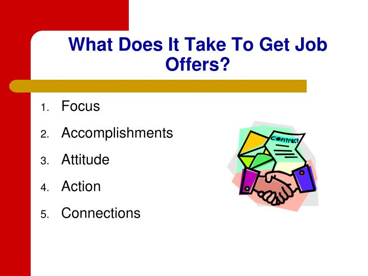 What Does It Take To Get Job Offers?