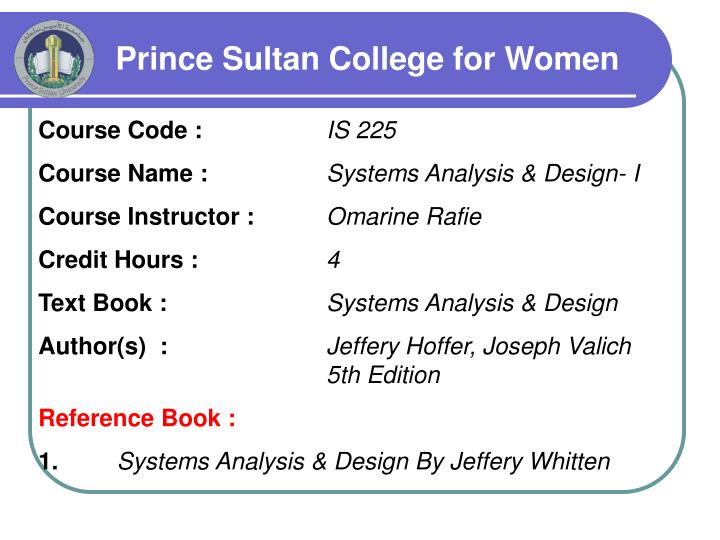 prince sultan college for women n.