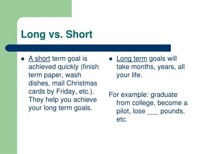 PPT - Goals PowerPoint Presentation - ID5553970