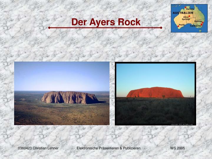 Der Ayers Rock