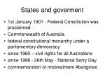 states and goverment