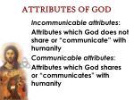 attributes of god1