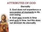 attributes of god10
