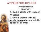 attributes of god15