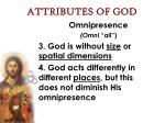 attributes of god19