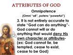 attributes of god21
