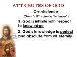 attributes of god22