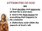 attributes of god25