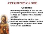 attributes of god37