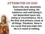 attributes of god4