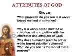 attributes of god47
