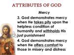 attributes of god49