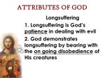 attributes of god51