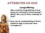attributes of god53