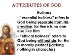 attributes of god56