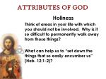 attributes of god58