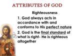 attributes of god59