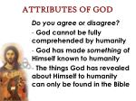 attributes of god6