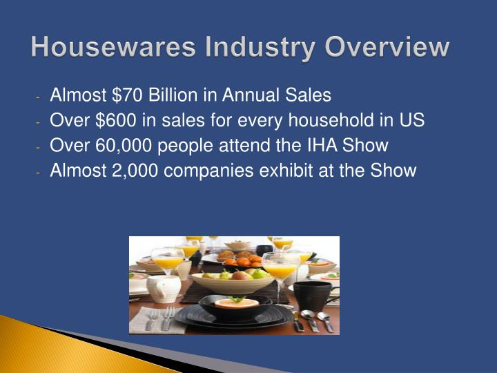 Housewares Industry Overview