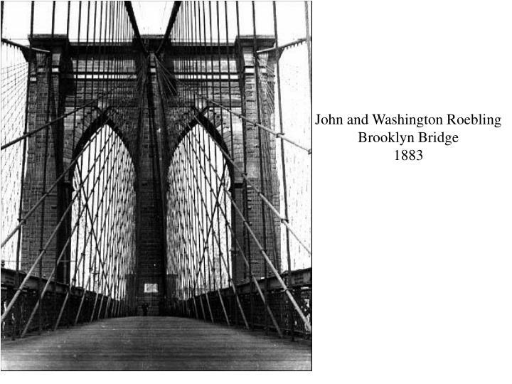 John and Washington Roebling