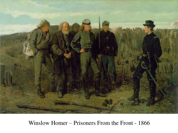 Winslow Homer – Prisoners From the Front - 1866