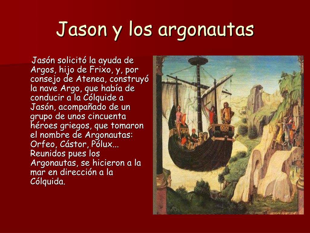Resultado de imagen de JASON imagenes MITOLOGIA