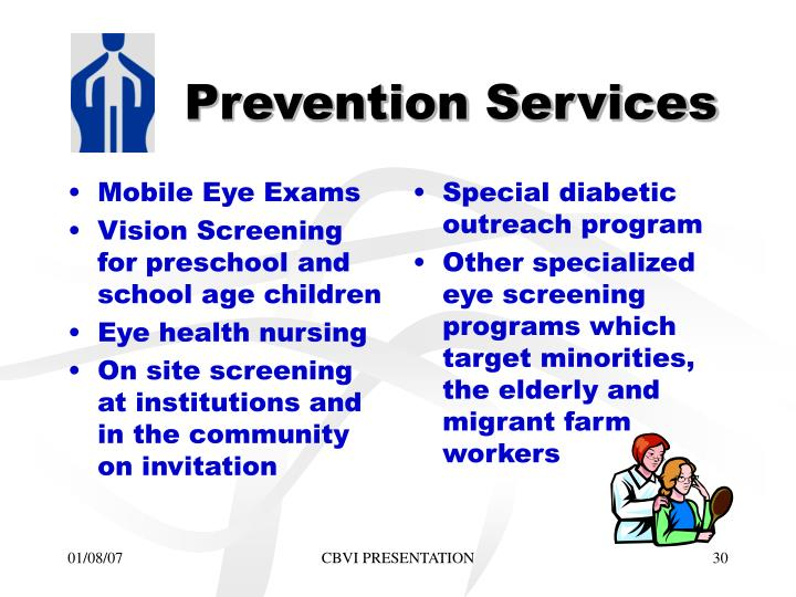 Mobile Eye Exams
