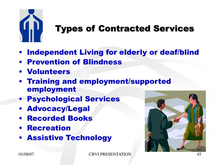 Types of Contracted Services