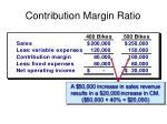 contribution margin ratio2