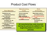 product cost flows2