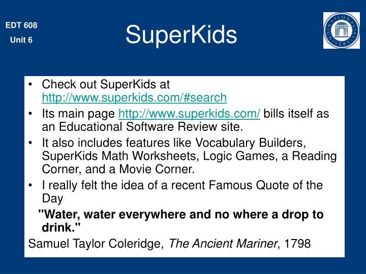Awesome Superkids.com Math Images - Printable Math Worksheets ...