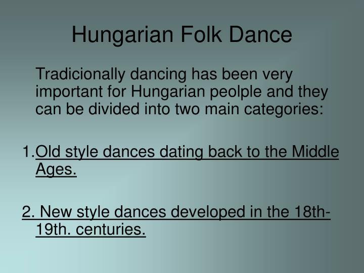 Hungarian Folk Dance