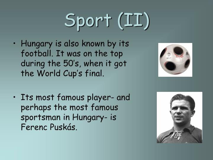 Sport (II)