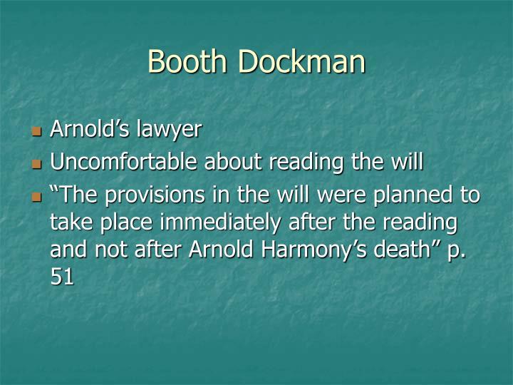 Booth Dockman