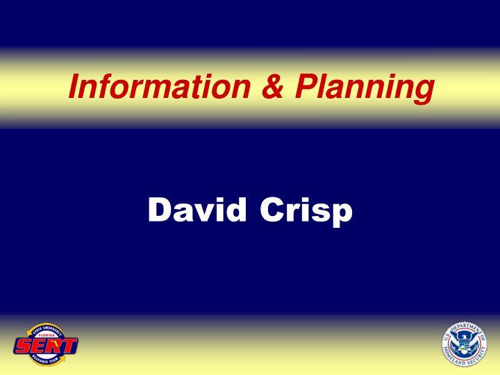 Information & Planning