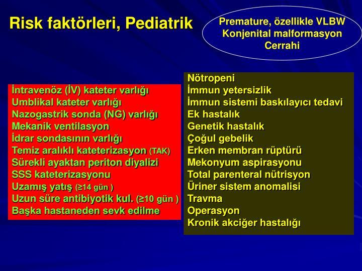 İntravenöz (İV) kateter varlığı