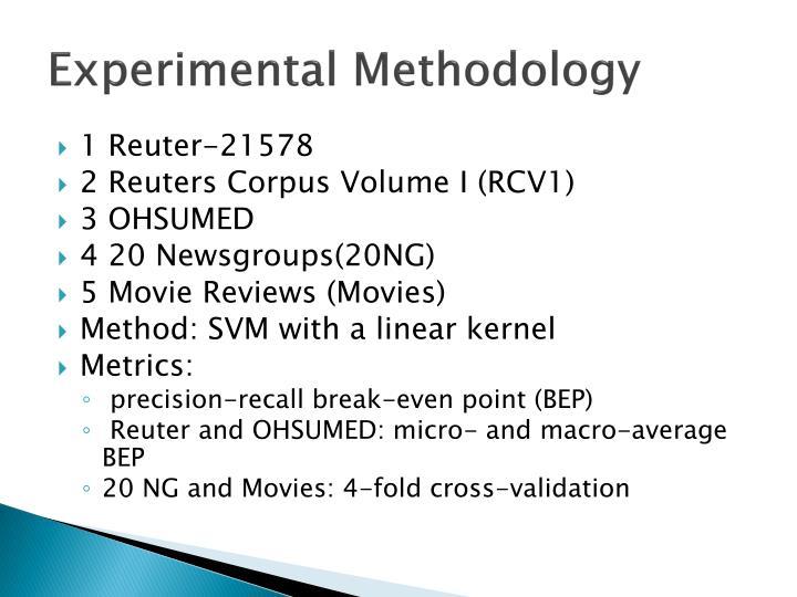 Experimental Methodology