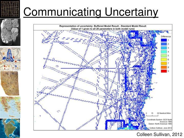 Communicating Uncertainy